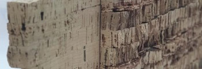 пробковые покрытия - из блоков для  производства шпона для пробковых полов